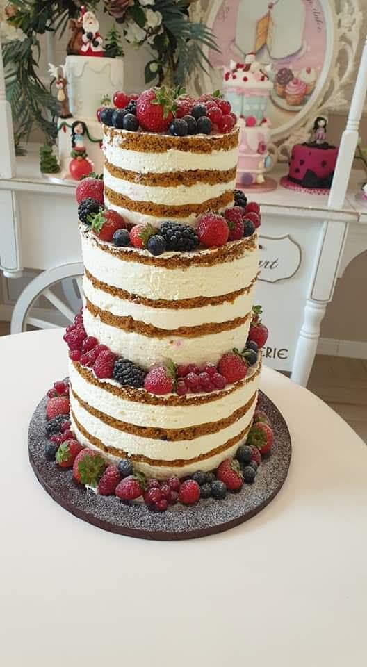 Tort botez model 4